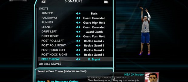 NBA 2K10: Draft Combine News