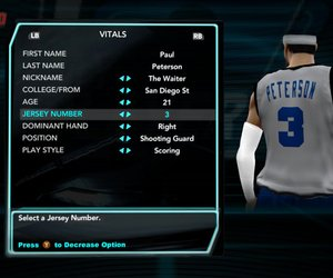 NBA 2K10: Draft Combine Files