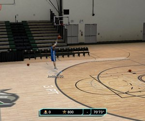 NBA 2K10: Draft Combine Screenshots