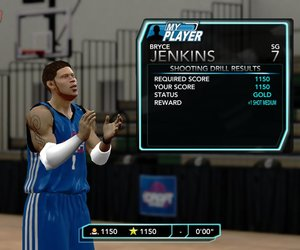NBA 2K10: Draft Combine Chat