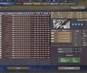 Hearts of Iron III Screenshots