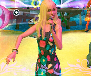Hannah Montana: Rock Out the Show Screenshots
