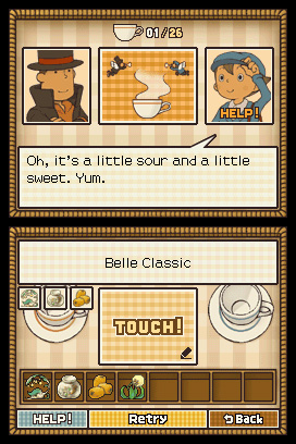 Professor Layton and the Diabolical Box Screenshots