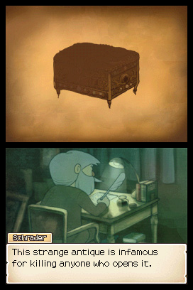 Professor Layton and the Diabolical Box Files