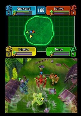 Spore Hero Arena Screenshot from Shacknews