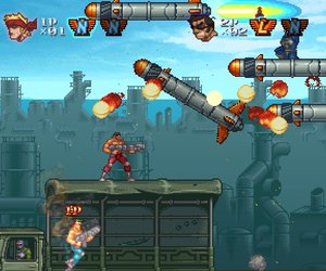 Contra ReBirth Screenshots
