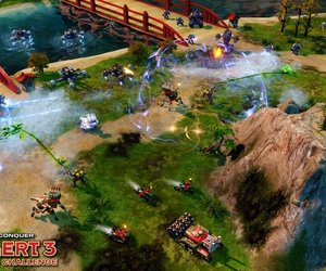 Command & Conquer: Red Alert 3 Commander's Challenge Screenshots