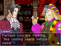 Ace Attorney Investigations: Miles Edgeworth Screenshots