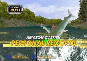 Shimano Xtreme Fishing Screenshot from Shacknews