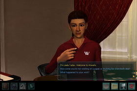 Nancy Drew: #21 Warnings at Waverly Academy Screenshot from Shacknews