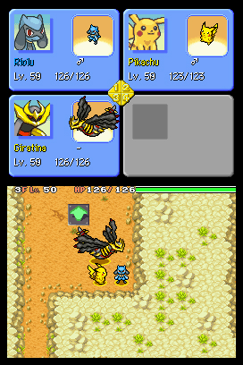 Pokemon Mystery Dungeon: Explorers of Sky Screenshots
