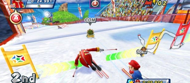 Mario & Sonic at the Olympic Winter Games News