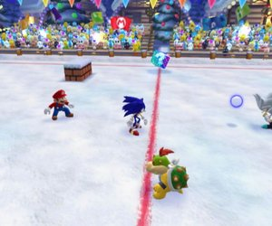 Mario & Sonic at the Olympic Winter Games Chat