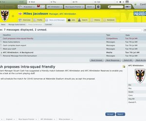 Football Manager 2010 Screenshots