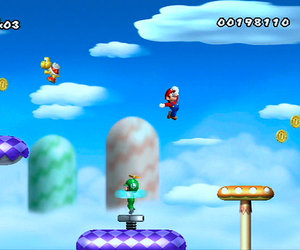 New Super Mario Bros. Wii Chat
