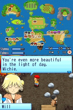 Harvest Moon DS: Sunshine Islands Screenshots