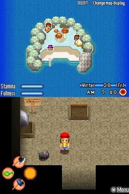Harvest Moon DS: Sunshine Islands Chat