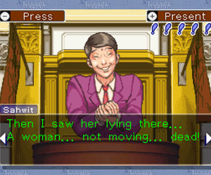 Phoenix Wright: Ace Attorney Chat