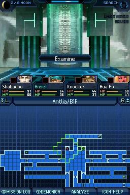 Shin Megami Tensei: Strange Journey Chat