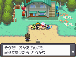 Pokemon HeartGold Chat