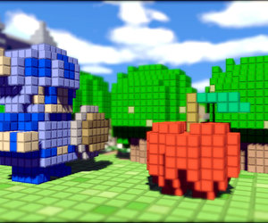 3D Dot Game Heroes Screenshots