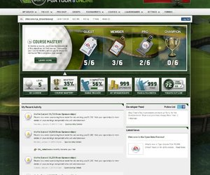 Tiger Woods PGA Tour Online Screenshots