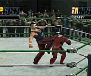 TNA iMPACT!: Cross the Line Screenshots