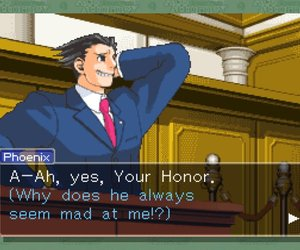 Phoenix Wright: Ace Attorney - Justice for All Chat