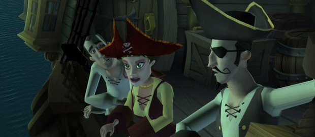 Ghost Pirates of Vooju Island News