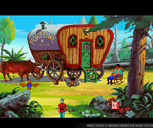 King's Quest V: Absence Makes the Heart Go Yonder! Screenshots