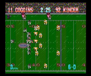 Tecmo Bowl Throwback Screenshots