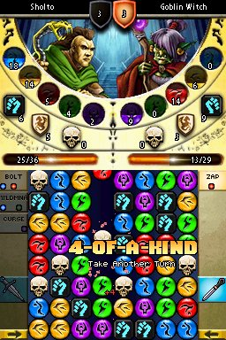 Puzzle Quest 2 Screenshots