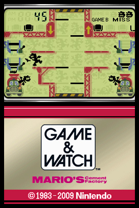 Game & Watch: Mario's Cement Factory Videos