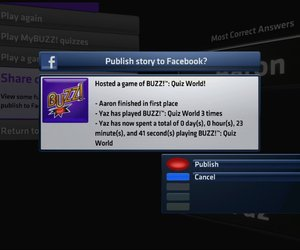 Buzz! Quiz World Screenshots