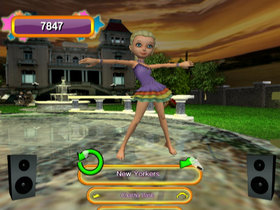 Dance Sensation! Screenshot from Shacknews