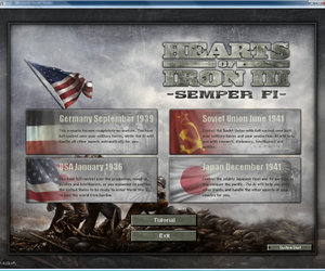 Hearts of Iron 3: Semper Fi Screenshots