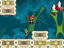 Mario & Luigi: Bowser's Inside Story Files