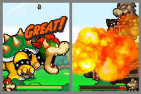 Mario & Luigi: Bowser's Inside Story Screenshot from Shacknews