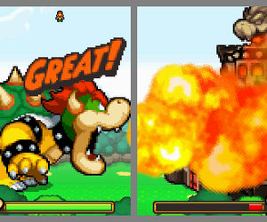 Mario & Luigi: Bowser's Inside Story Chat