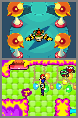 Mario & Luigi: Bowser's Inside Story Screenshots