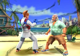 All Star Karate Screenshot from Shacknews