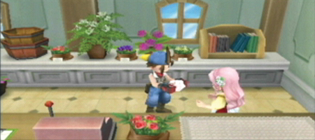 Harvest Moon: Hero of Leaf Valley Screenshots