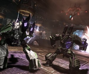 Transformers: War For Cybertron Chat