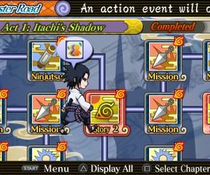 NARUTO SHIPPUDEN: Ultimate Ninja Heroes 3 Chat