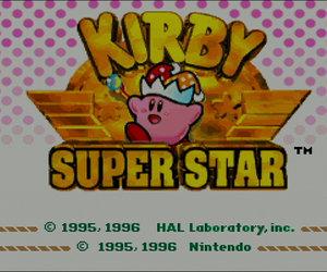 Kirby Super Star Screenshots