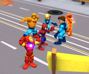 Super Hero Squad Online Screenshots