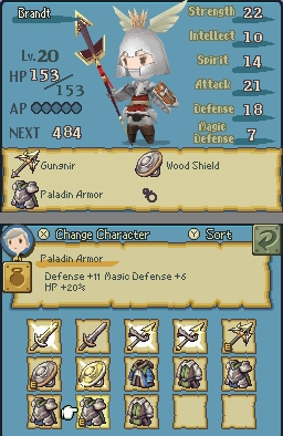 Final Fantasy: The 4 Heroes of Light Chat