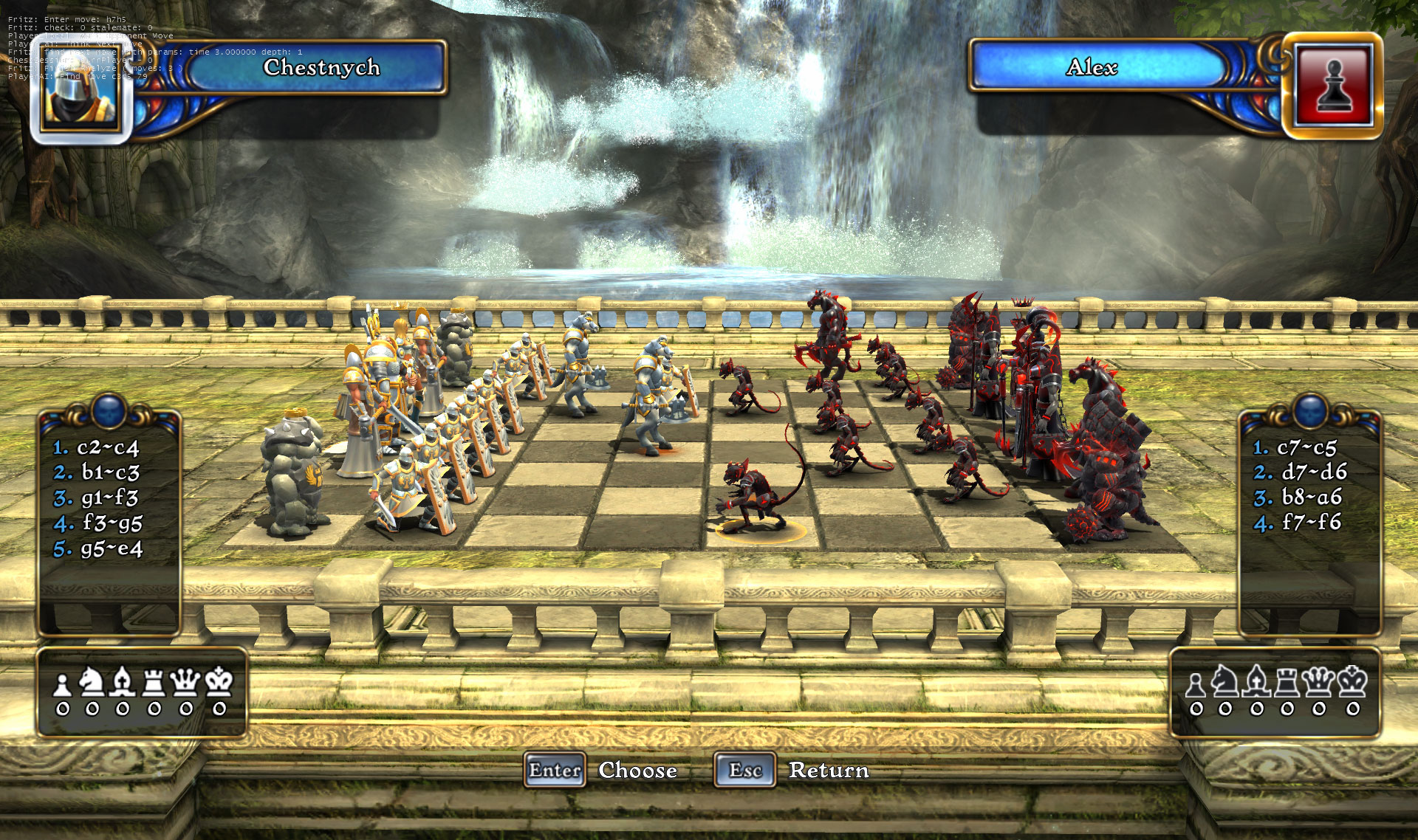 Battle vs chess screenshots video game news videos for Battle chess