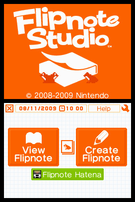 Flipnote Studio Screenshots