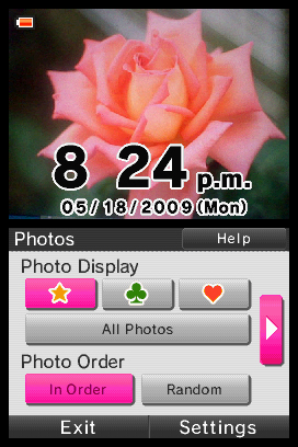 Photo Clock Chat